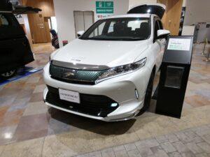 代替:トヨタ ハリアー 燃費 実燃費 燃費向上 旧型展示車