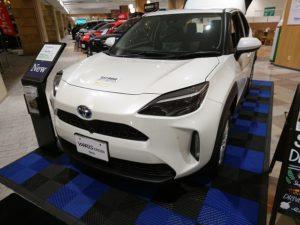 代替:トヨタ ヤリスクロス 値引き 金額 展示車
