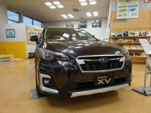 代替:スバル XV レヴォーグ 比較 XV展示車