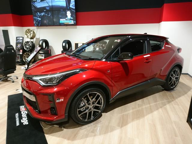 代替:スバル XV レヴォーグ 比較C-HR展示車