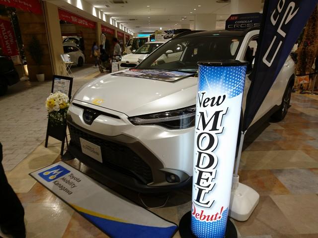 代替:トヨタ 新型SUV カローラクロス 納期 納車待ち 展示車