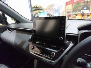 代替:トヨタ 新型SUV カローラクロス インテリア シートアレンジ 車中泊 DA